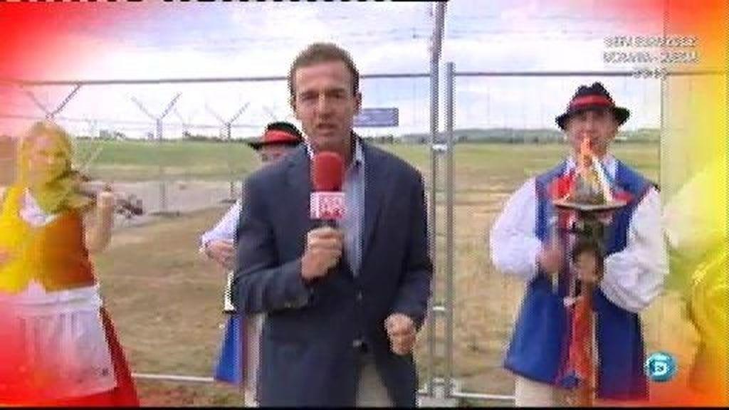 Lequio, reportero en Gdansk