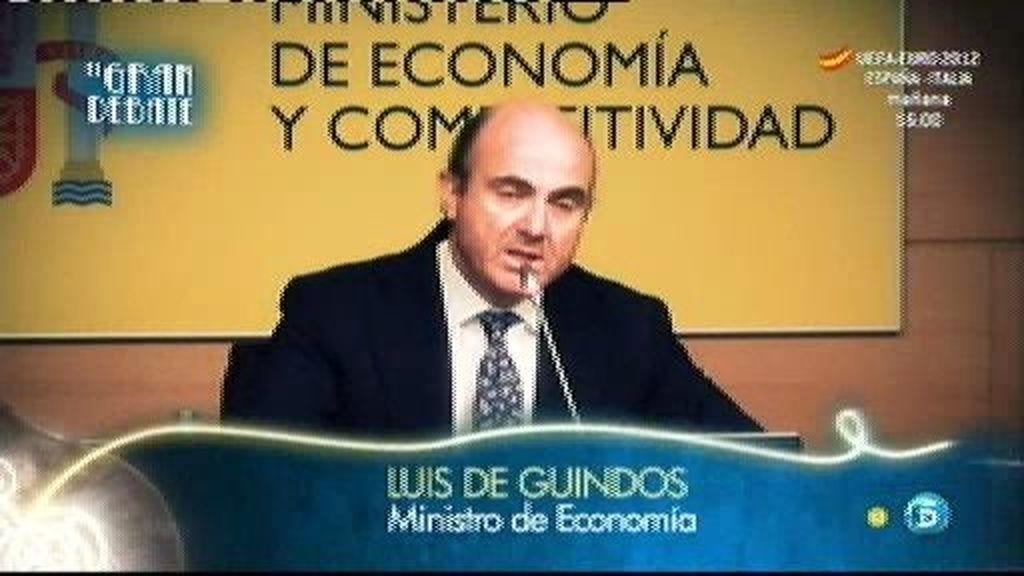 """Luis de Guindos: """"Las condiciones se van a imponer a los bancos, no a la sociedad española"""""""