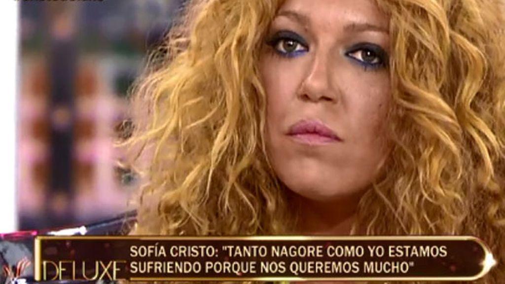 """Sofía Cristo: """"Me asusté cuando se me perforó el tabique nasal por mi adicción"""""""