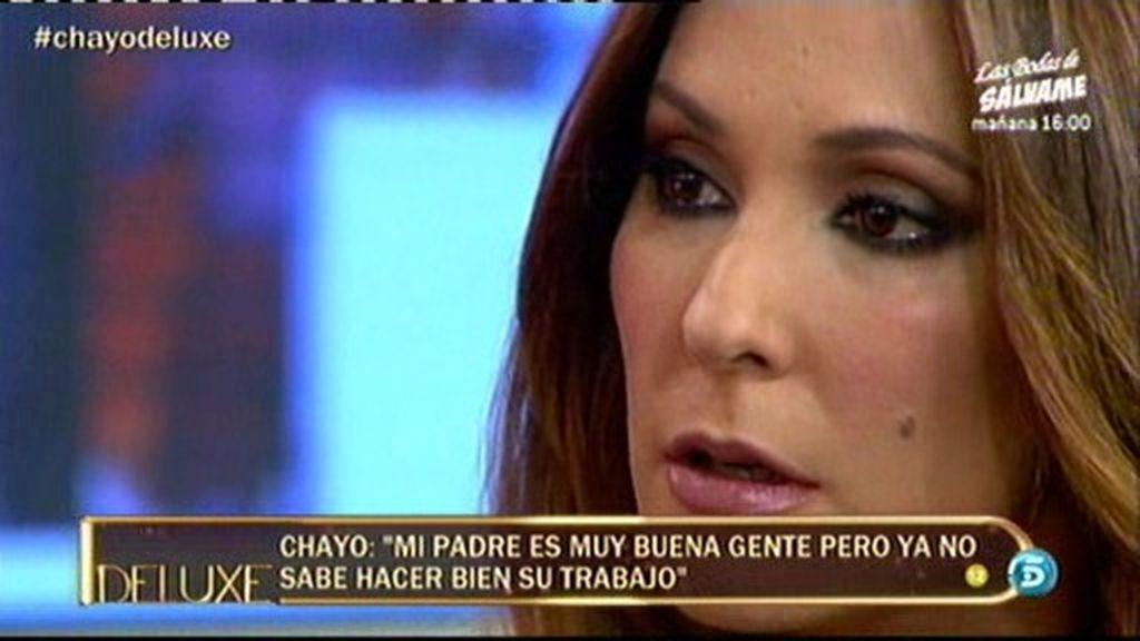 "Chayo M.: ""Mi padre ya no es mi manager"""