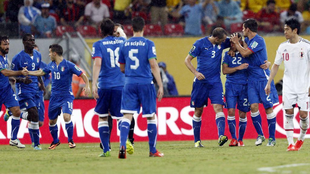 Gol: Italia 1-1 Brasil (min.51)
