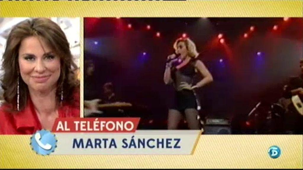 Marta Sánchez recuerda sus inicios en 'Olé Olé'