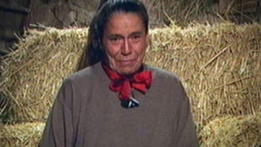 Las lágrimas de Mari Ángeles