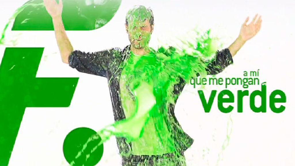 Dani Martínez está muy verde