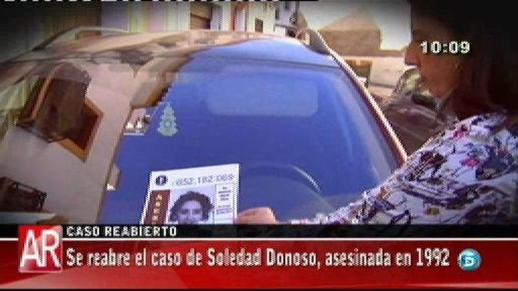 Se reabre el caso de Soledad Donoso, asesinada en 1992