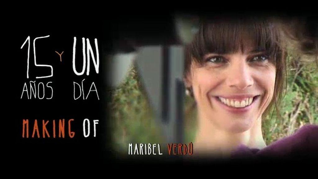¿Cómo es Maribel Verdú durante sus rodajes?