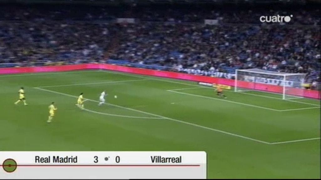 Real Madrid 3 - 0 Villarreal