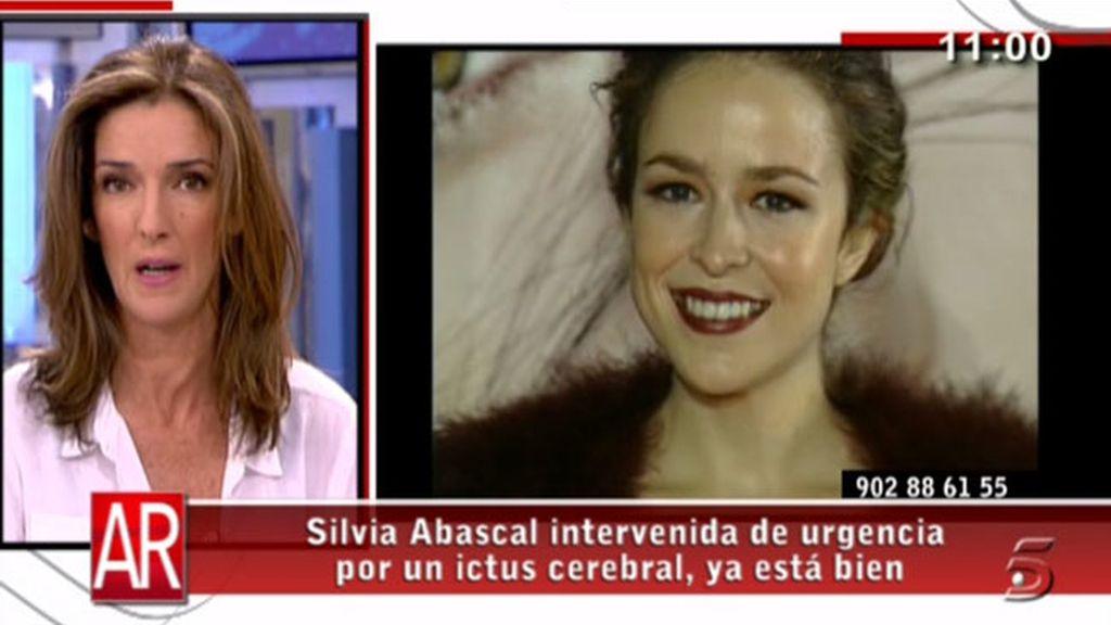 Silvia Abascal sufre un ictus