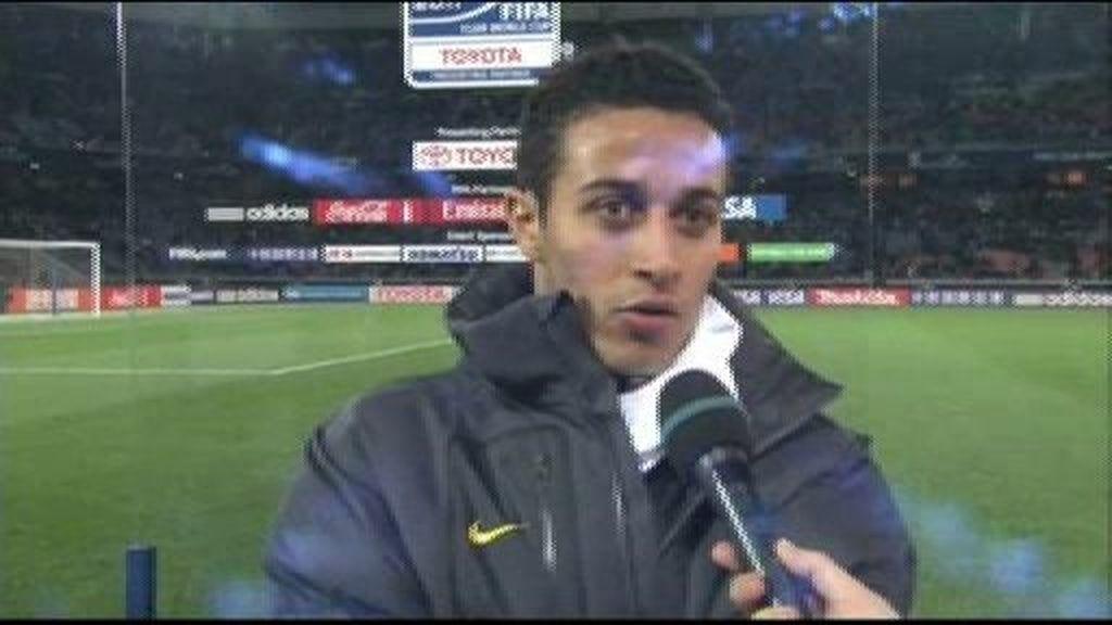 """Thiago: """"Sentimos la lesión de Villa, es un jugador que hace mucha falta"""""""