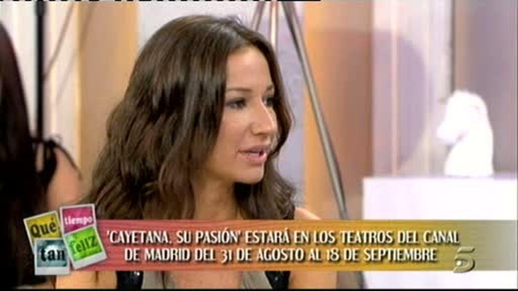 Doña Cayetana, entusiasmada