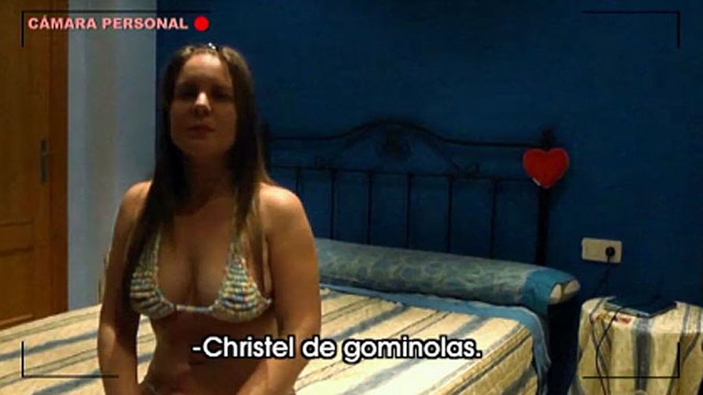 Pablo se come las gominolas de Christel