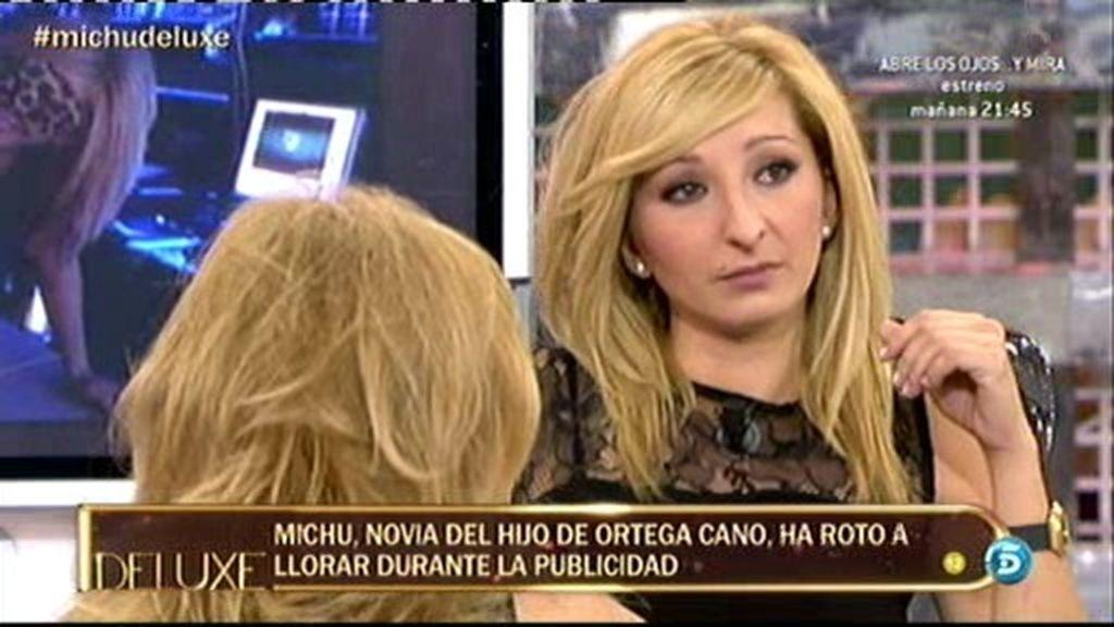 La novia de José Fernando se echa a llorar por los ataques de los colaboradores