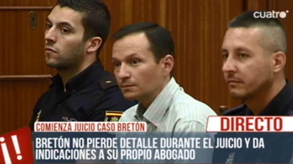Comienza el juicio contra José Breton
