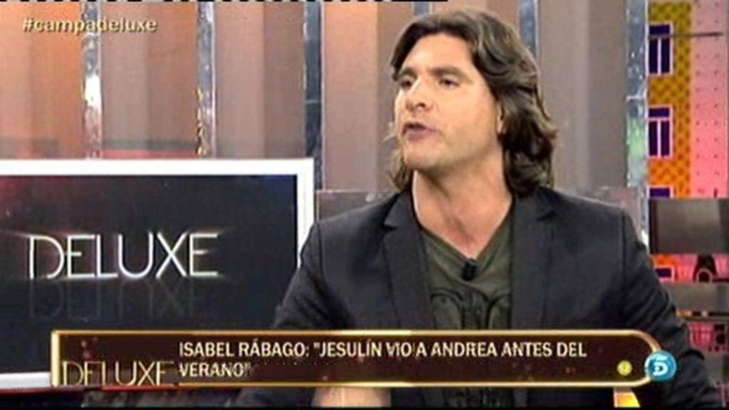 """Toño Sanchís: """"Andrea no quiso ir con su padre para apoyarle en su concurso"""""""