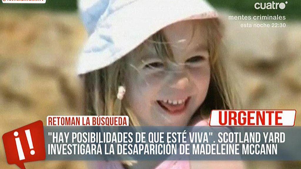 Madeleine Maccnn podría estar viva