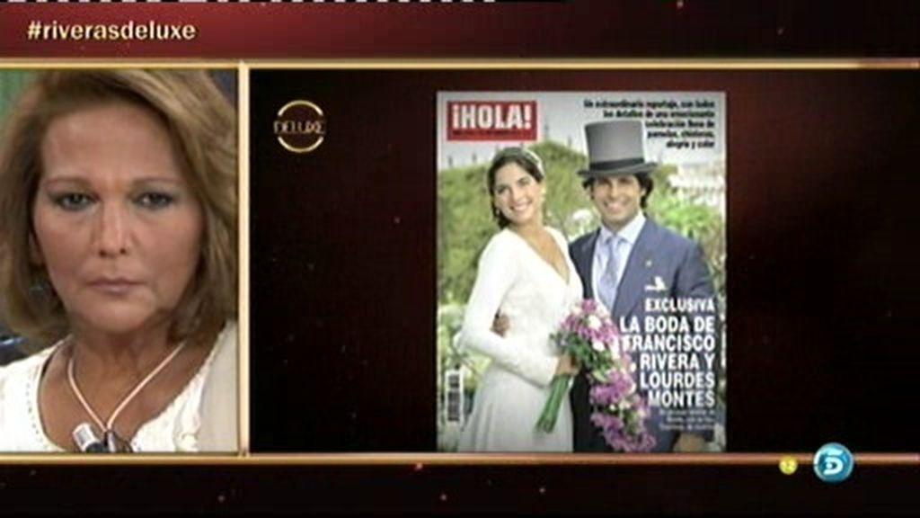 """Charo Vega: """"Francisco Rivera para mí se ha vuelto un perfecto desconocido"""""""