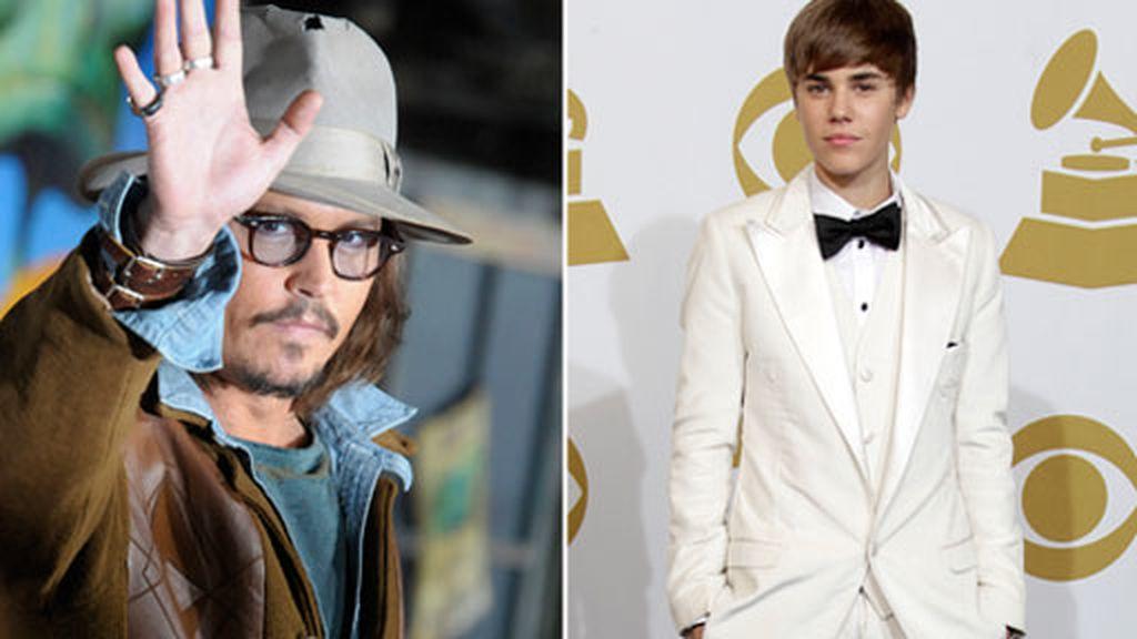 Bieber: Fan de Johnny Deep