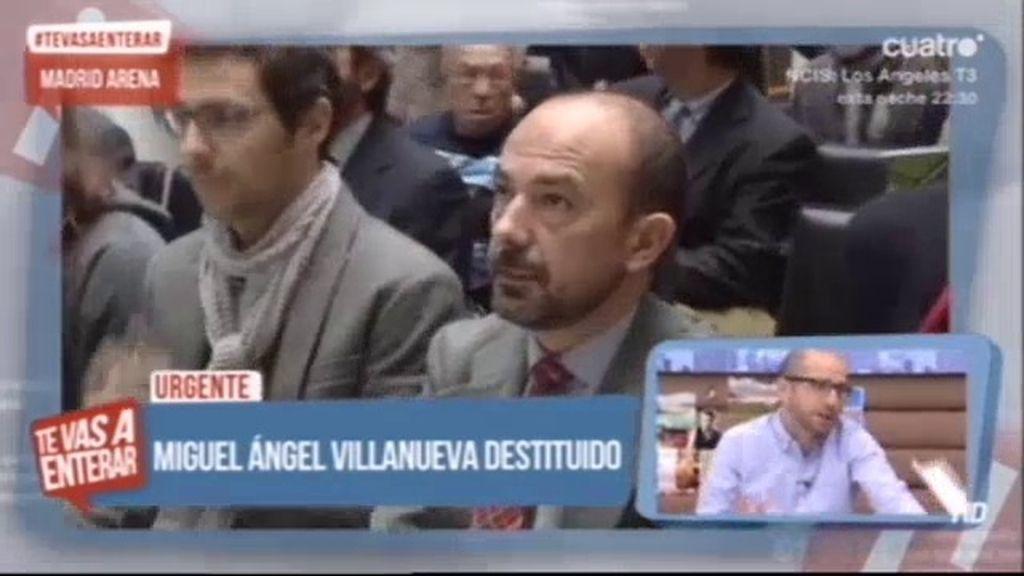 Ana Botella destituye a Miguel Ángel Villanueva