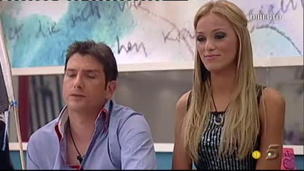 David y Natalia se despiden