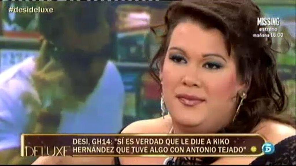 ¿Estuvo Desi con Antonio Tejado?