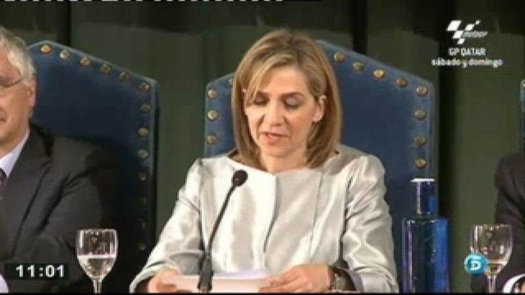 El Rey se implica en la defensa de la Infanta Cristina