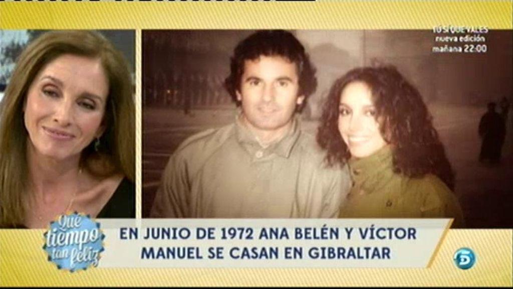 Así es la historia de amor de Ana Belén y Víctor Manuel