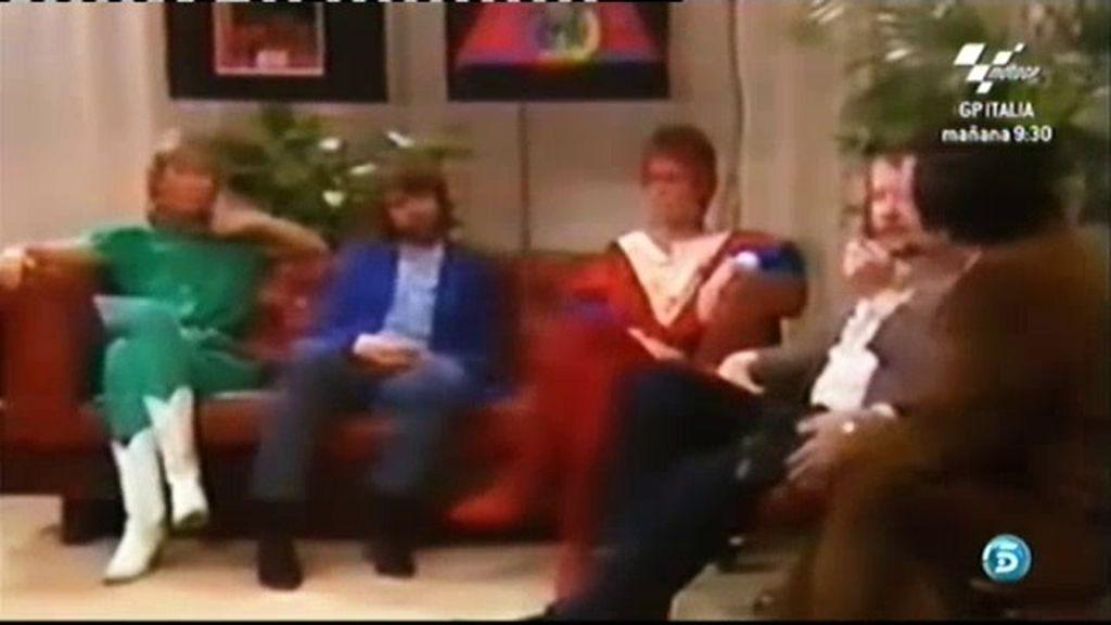 La primera entrevista de 'ABBA' en España