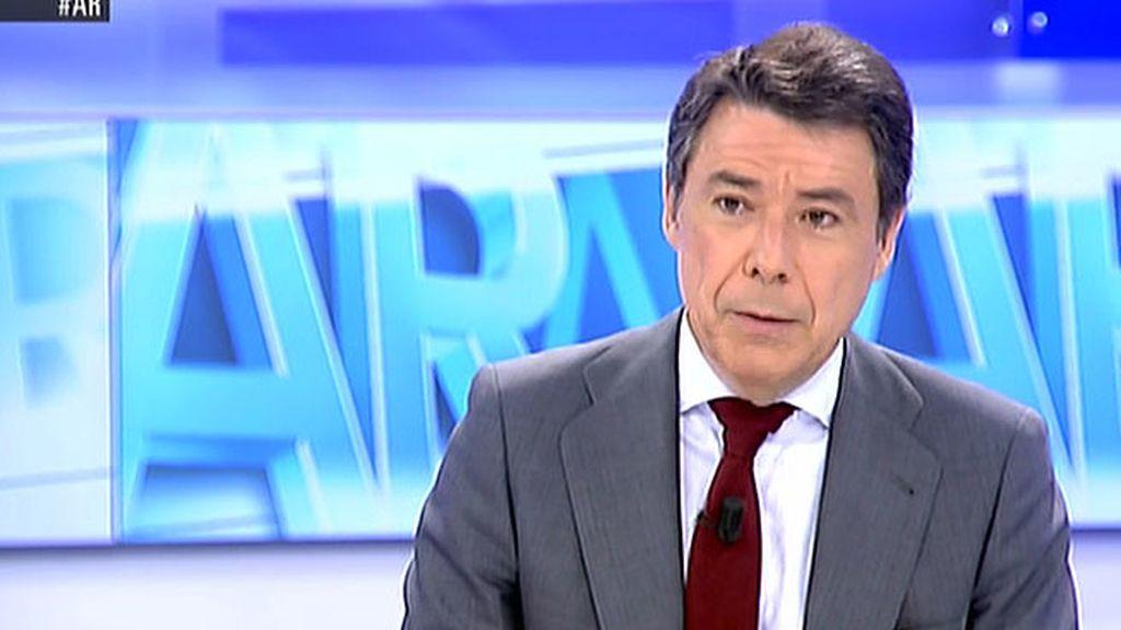 """Ignacio González: """"Es peligroso que los Tribunales decidad sobre cuestiones que les corresponde a las administraciones"""""""