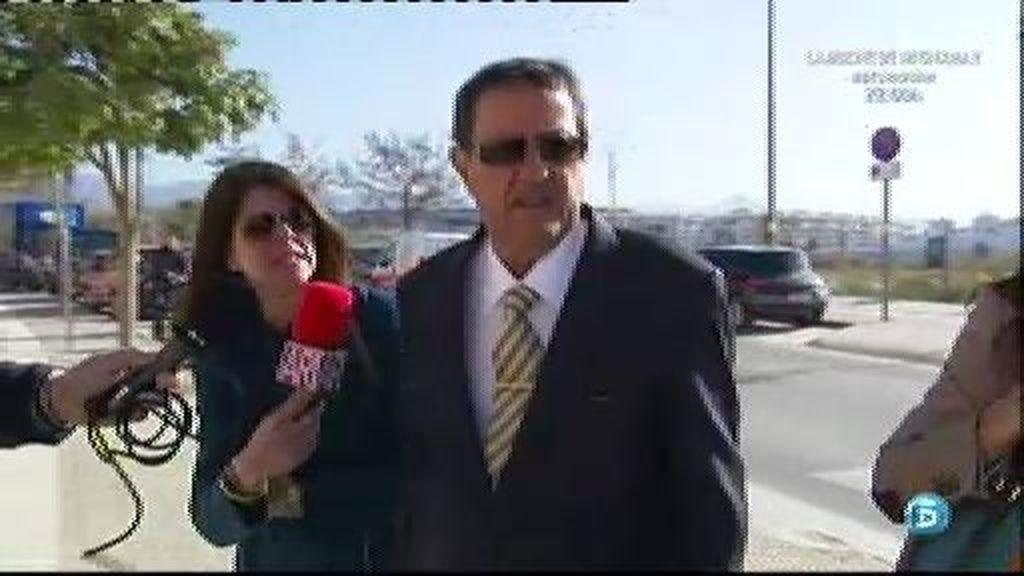 Julián Muñoz llega a la Audiencia de Málaga