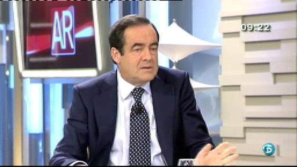 """José Bono: """"Sea cuales sean los vicios de Urdangarin el caudal de credibilidad y de afecto que el rey genera en España es muy superior"""""""