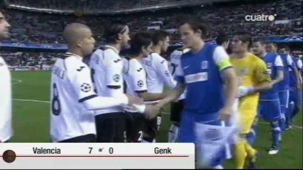 Valencia 7 - 0 Genk