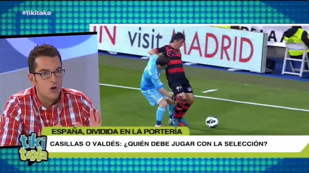 """Látigo: """"Poner a Casillas ahora sería poner en riesgo su carrera por si lo hace mal"""""""