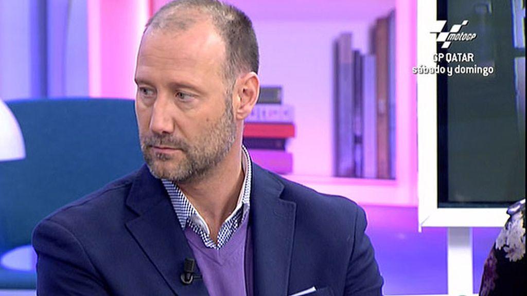 """Pedro Gª Aguado: """"Muchas veces los hijos nos hablan y no hacemos caso porque es doloroso"""""""