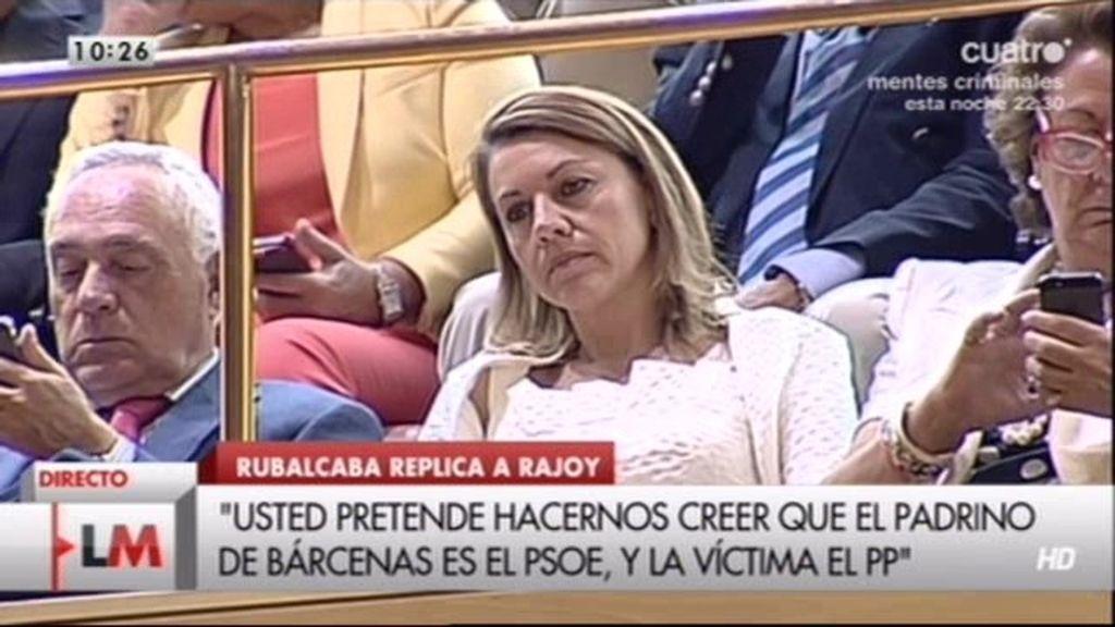 """Rubalcaba: """"Cospedal estaba embarcada en una operación de borrado de huellas"""""""