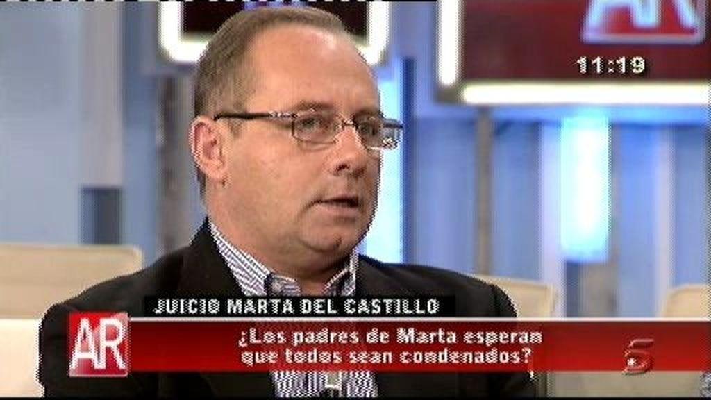 """""""En la calle hay gente que sabe dónde está Marta"""""""
