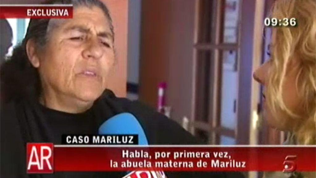 La abuela de Mari Luz en 'AR'