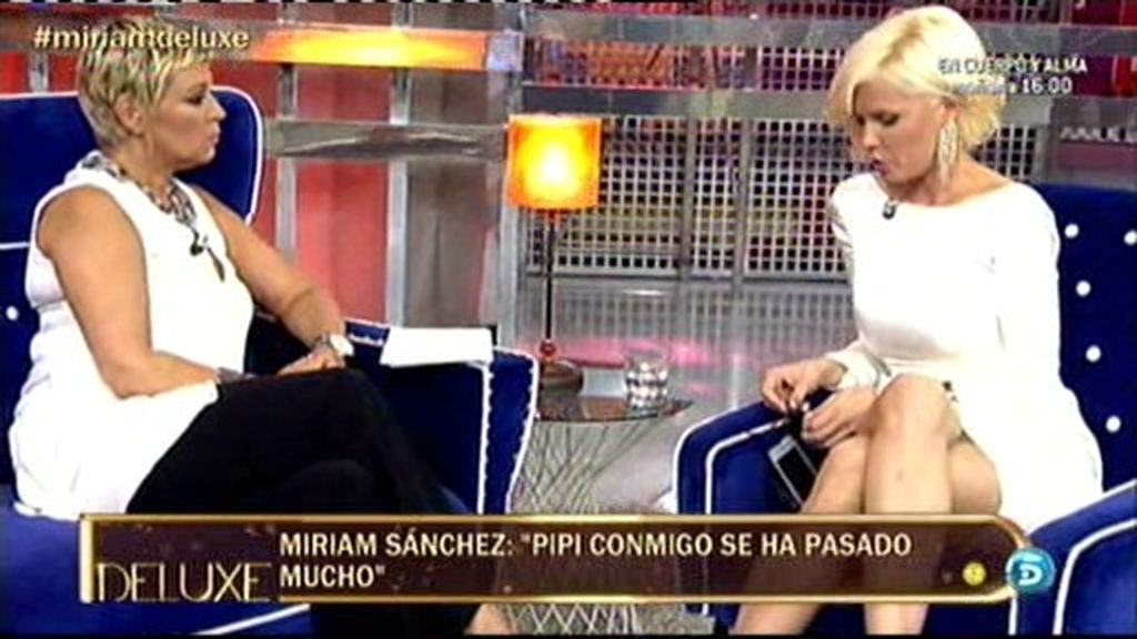 """Miriam: """"Somos muy pasionales. Me arrepiento de muchas cosas"""""""