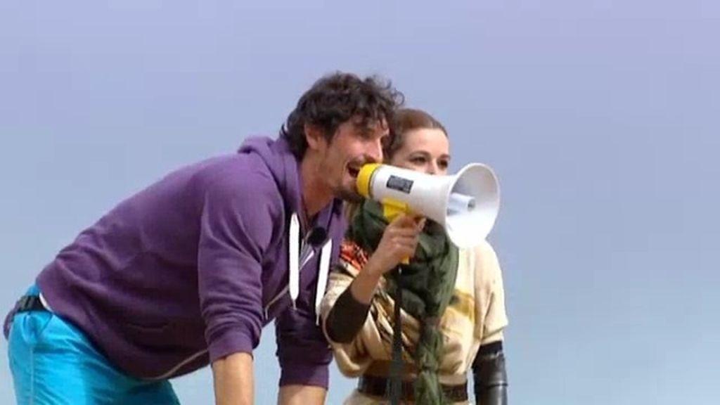 Felipe y Noelia se llevan su primer dirhan en la jornada de descanso