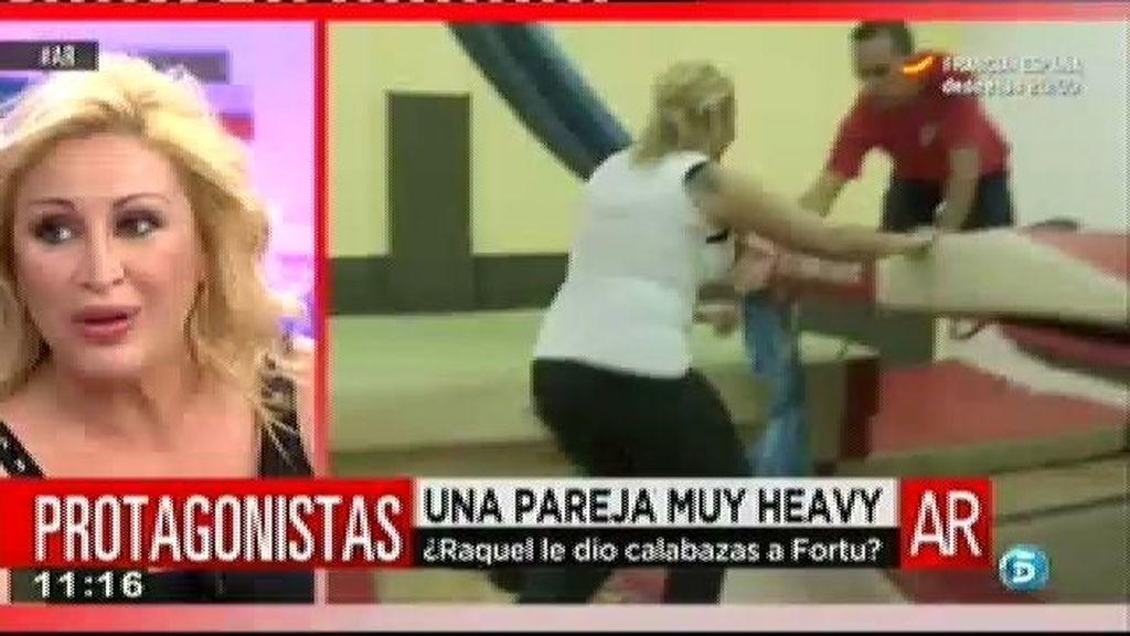 """Raquel Mosquera: """"Fortu es un tío estupendo pero no tengo ninguna relación con él"""""""
