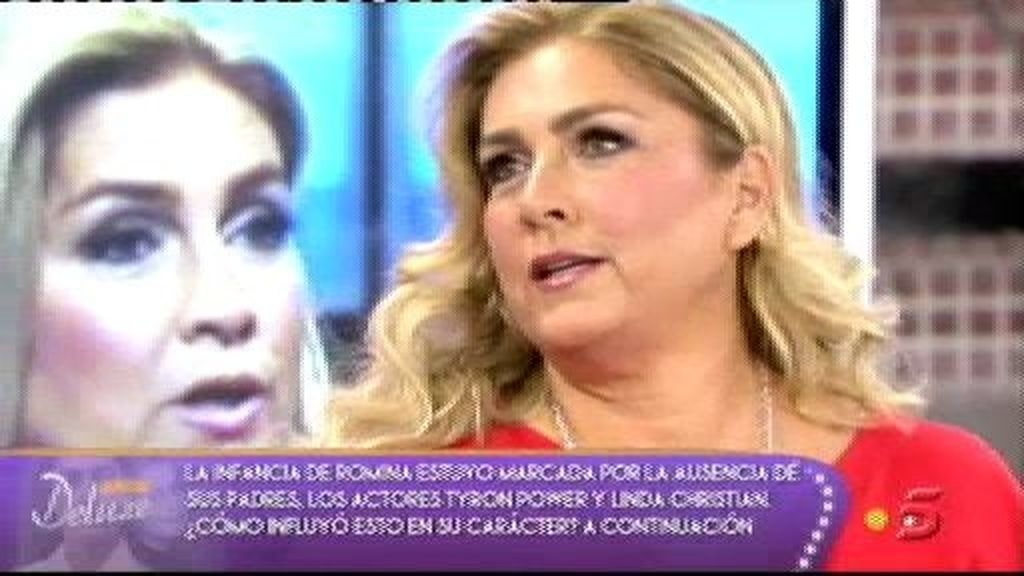 La infancia de Romina Power