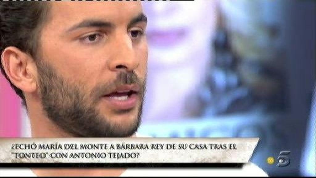 Antonio Tejado cree que su tía intuía lo suyo con Bárbara