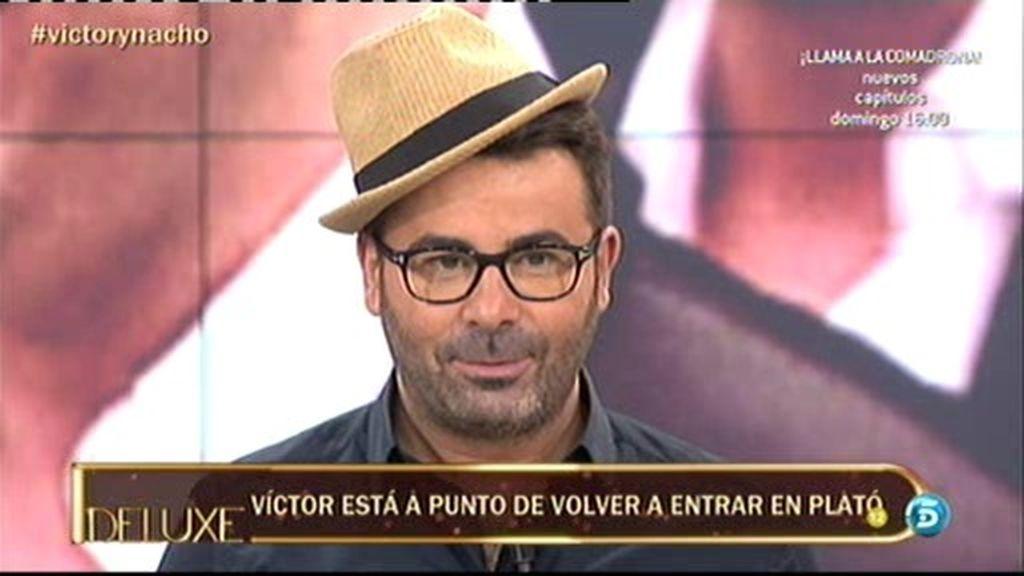 Jorge Javier, con el sombrero de Nacho Polo