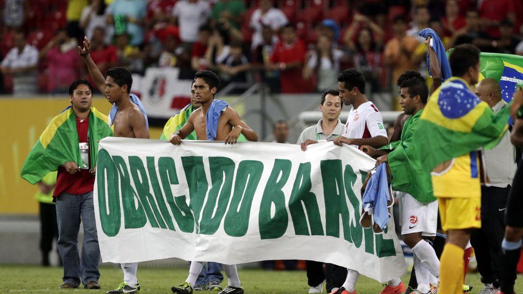 Resumen: Uruguay 8-0 Tahití