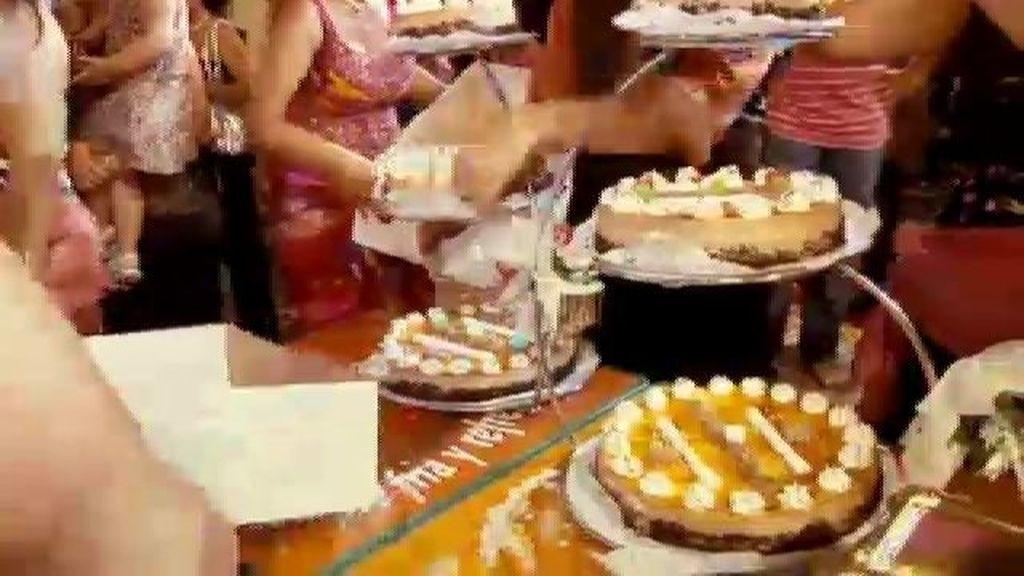 El rito de la tarta y la rondeña