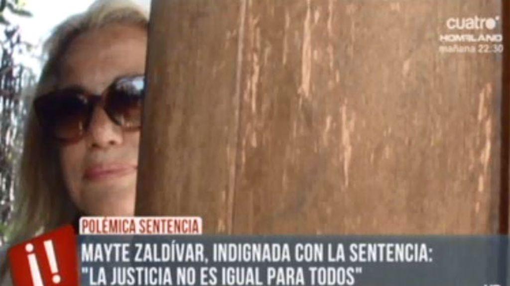 """Mayte Zaldívar, en exclusiva: """"Creo en la injusticia de esta justicia"""""""