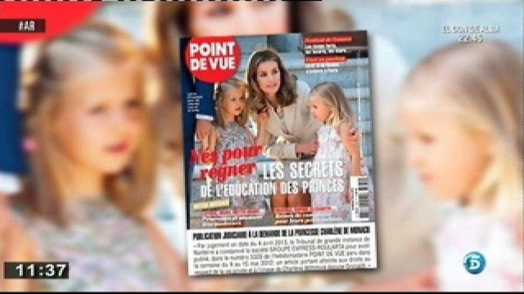 Una revista francesa desvela los secretos de la educación que Letizia le da a las Infantas