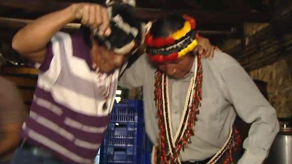 Yambía y Guirar, pisando la uva