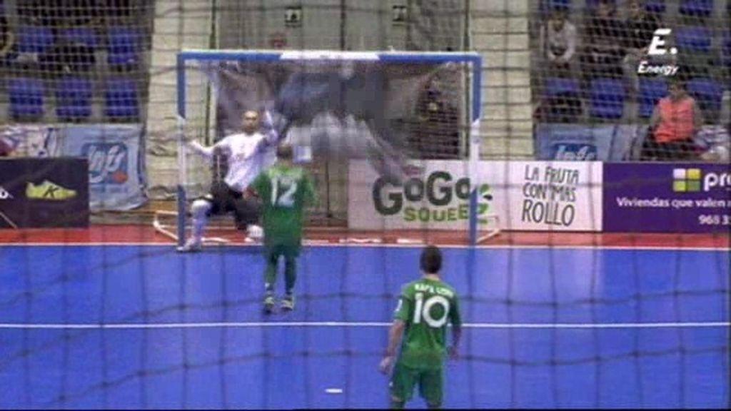 Gol de Eseverri (Navarra 4-5 ElPozo)