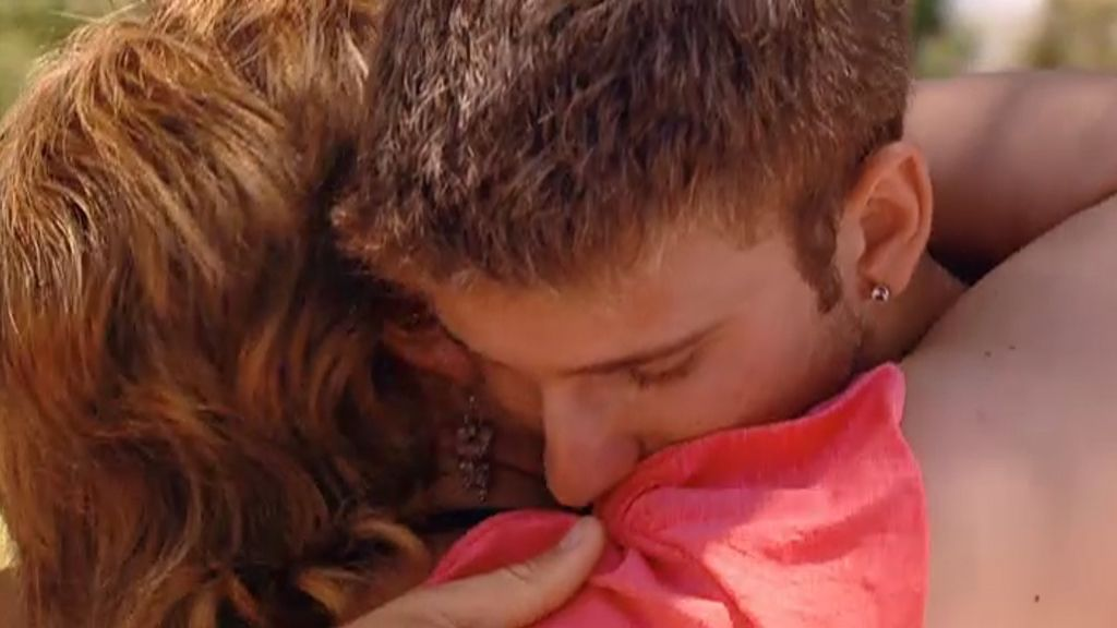 Iván acabó abrazando a su madre