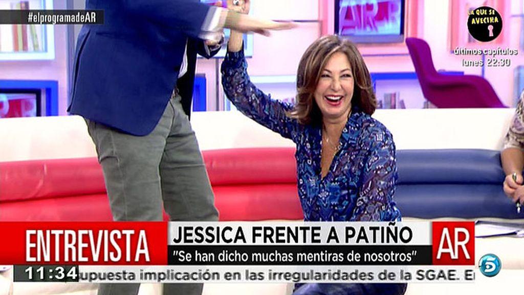 Ana Rosa se mete con la altura de Patiño